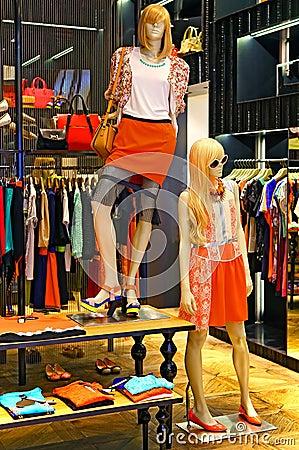 Ladies Summer Fashion Clothing Store Stock Photo - Image: 40749398