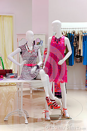 Ladies summer clothing store
