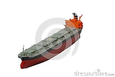 Ladung-Tanker-Lieferung