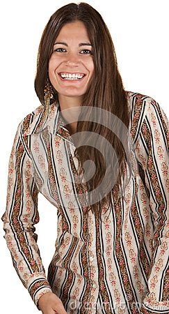 Lady With Big Smile