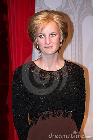 Free Lady Diana At Madame Tussaud S Royalty Free Stock Images - 20351059