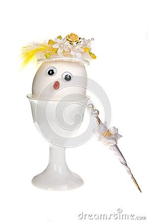Free Lady Egg Royalty Free Stock Photos - 9621288