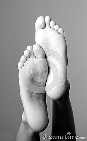 Lady feet