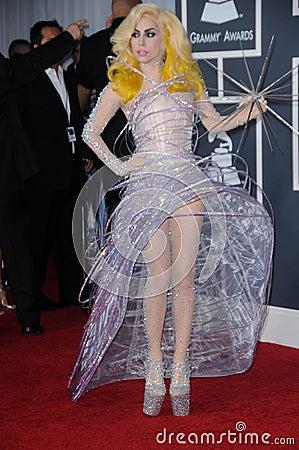 Free Lady GaGa Royalty Free Stock Photography - 24817177