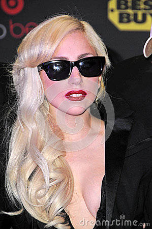 Lady GaGa Editorial Stock Photo