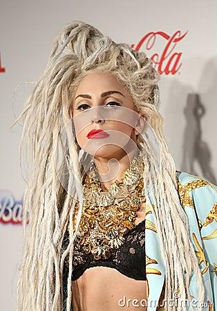 Free Lady GaGa Stock Image - 36733261