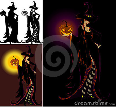 Lady Halloween - Witch