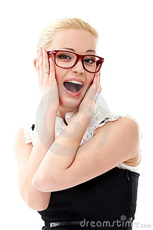 Free Lady In Glasses Stock Photo - 20695620