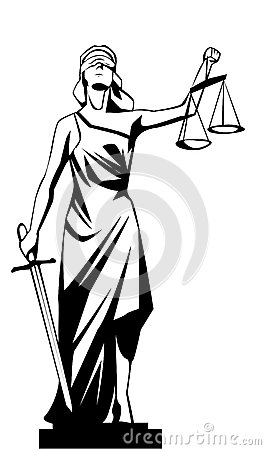 Free Lady Justice Stock Photo - 34050980