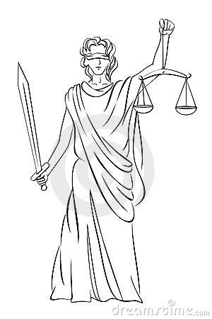 Lady Justice Stock Photos Image 3588693