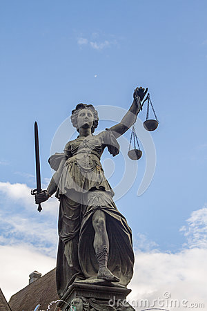 Free Lady Justice Stock Photography - 44697452