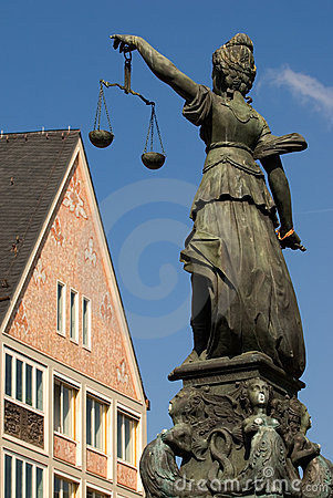 Lady Justice of Frankfurt