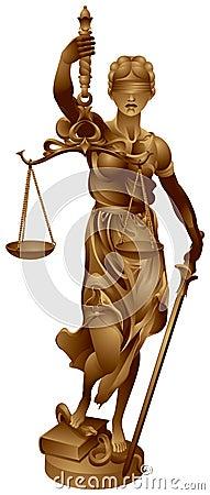 Lady Justice, Justitia