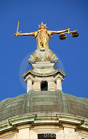 Lady of Justice The Old Bailey