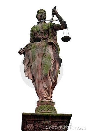 Free Lady Justice Statue Stock Image - 1862751
