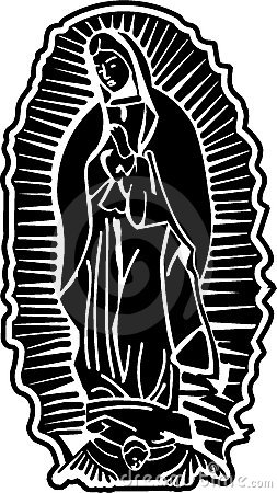 Free Lady Of Guadalupe Vector Art Stock Images - 7667244