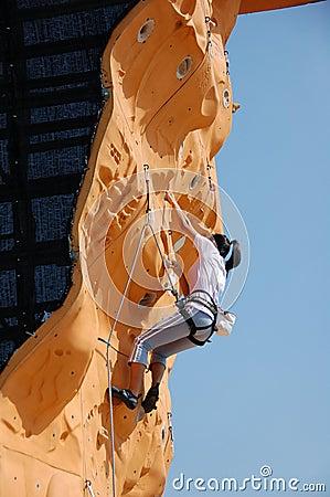 Lady Rock Climber 15