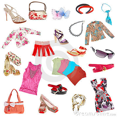 Free Lady S Clothes Stock Image - 2965601