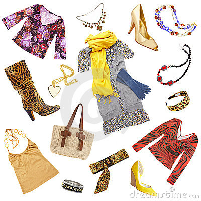 Free Lady S Clothes And Accessories Royalty Free Stock Images - 4503449