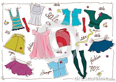 Lady s wear sale