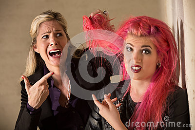 Lady Shocked About Hairdo