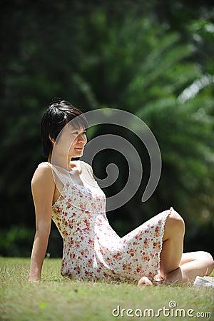 Lady under the sun
