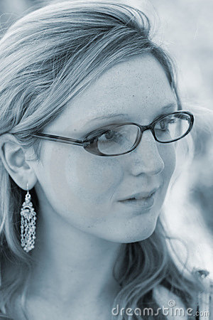 Free Lady With Glasses Royalty Free Stock Photography - 92647