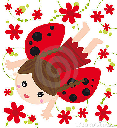 Free Ladybird Girl Stock Photos - 9562153