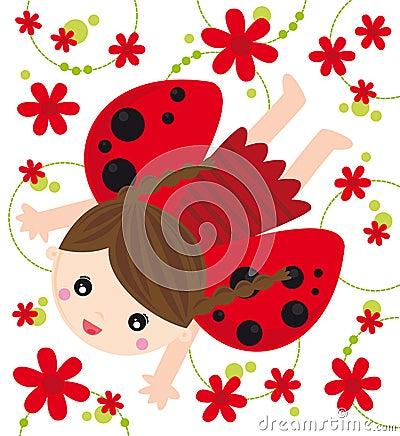 Ladybird girl