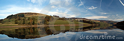 Ladybower reservoir. England