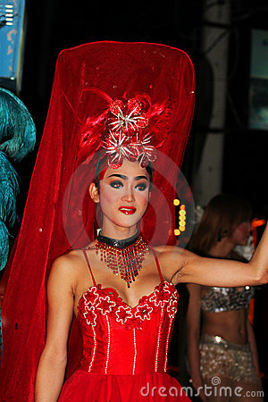 Ladyboy, Thailand. Editorial Photography