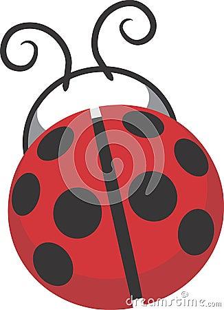 Ladybug design clip art