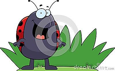 Ladybug Grass