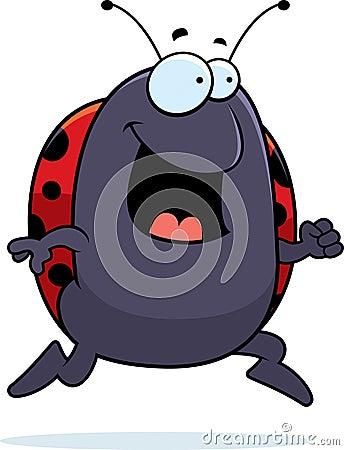 Ladybug Running