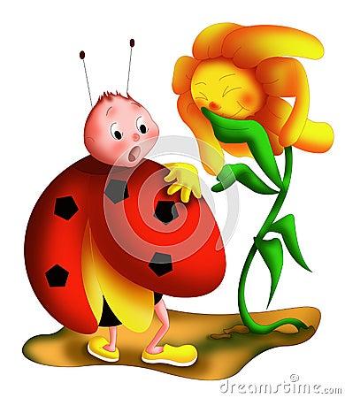 Ladybug surprise