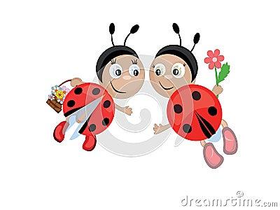 Ladybugs, CMYK