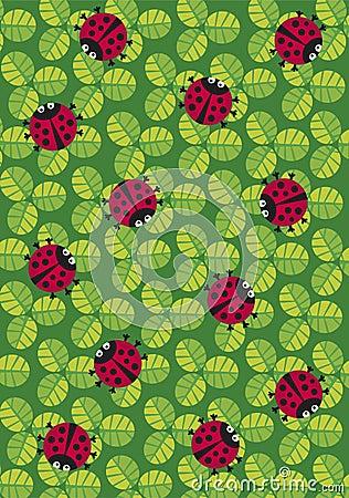 ladybugs texture