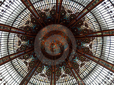 Lafayette Gallery s sumptuous glazed roof