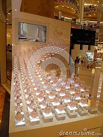 Lafayette store in Paris Editorial Image