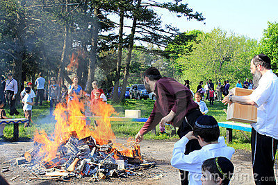 Lag B Omer Celebration in Toronto Editorial Photography