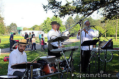 Lag B Omer Celebration in Toronto Editorial Image