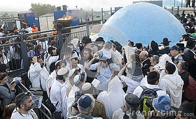 Lag Ba omer Editorial Stock Photo