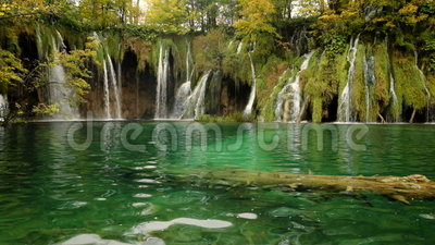 Laghi e cascate Plitvice nel Croatia