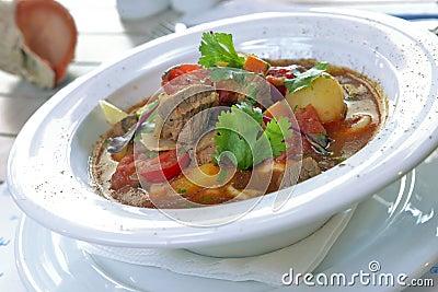 Lagman in a bowl