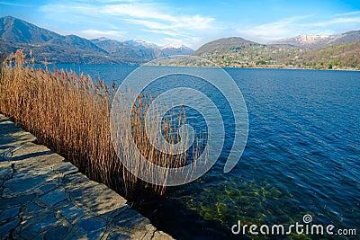 Lago d Orta, Italia