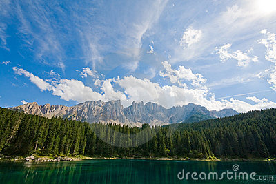 Lago da carícia - Dolomiti