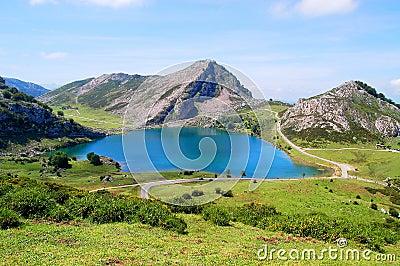 Lago Enol, Lakes Of Covadonga