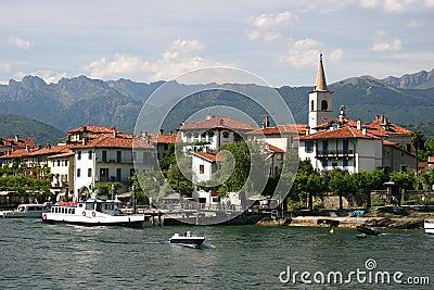 Lago Maggiore and Isola Superiore (dei Pescatori)