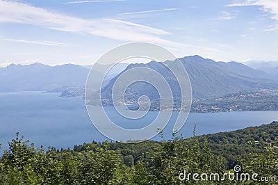 Lago maggiore panorama