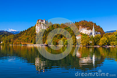 Lago sangrado, Eslovenia